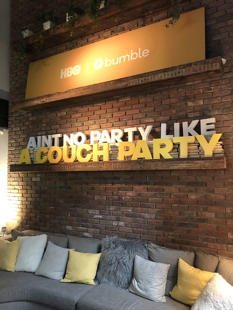 Couch party - HBO BUMBLE